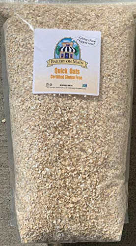 Bakery on Main | Happy Oats | Quick Cooking Oats | Gluten-Free | Non GMO Project Verified | Kosher | 7.5 Pound Resealable Bag