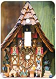 3dRose lsp_188521_1'Traditional Cuckoo Clock For Sale, Rothenburg, Germany Toggle switch