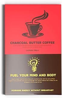 MCTオイル 配合 バターコーヒー 低糖質(30包)ダイエットコーヒー チャコールバターコーヒー… (スタンダード)...