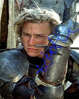 Heath Ledger Autographed Preprint Signed Photo