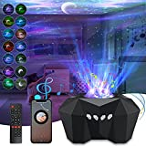 Star Light Projector, 3 in 1 Aurora Star Lights with Bluetooth Speaker Moon Sky Galaxy Laser Night Light Starry for Large Room with Remote Control Adults Ambient Light Timing for Ceiling Kid Bedroom