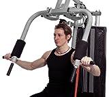 Christopeit Multistation Fitness-Station SP 20 XL, schwarz/weiß/rot, 145 x 115 x 200 cm, 1386 - 3