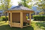 JUNIT Garten- Pavillon GAZEBO 9