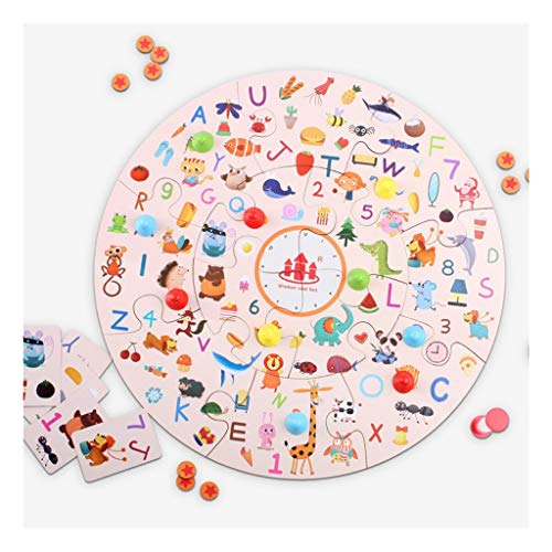 N/A Kinderfeestje Jigsaw-Detective Party Finding Game Concentratie Training-Early Childhood Bordspellen puzzel Toy