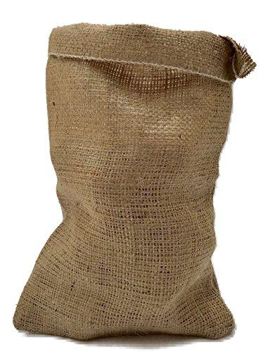 Nutley's Lot de 10 Sacs à gousses d'ail Toile de Jute Fermeture par Cordon 14 x 20 cm