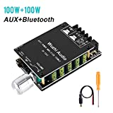YEMIUGO Bluetooth 5.0 Amplifier Board 100W Power High Fidelity HiFi Dual Channel Stereo Bluetooth Digital AUX Audio Amp Module with LC Filter