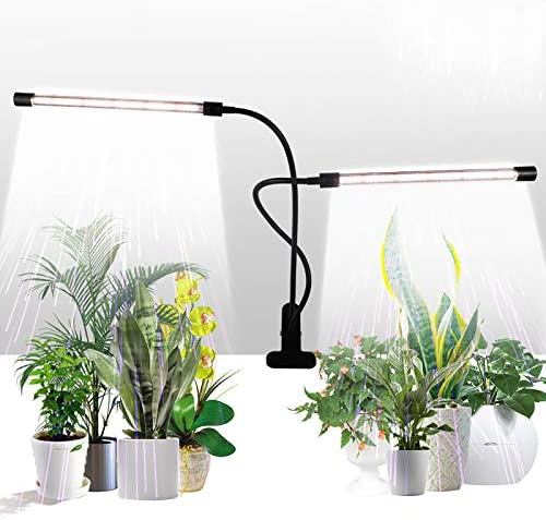 Grow Light GHodec Sunlight White 50W 84 LEDs Dual Head Clip Plant Lights for Indoor Plants 4 product image