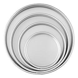 Shiny Aluminum cake pans