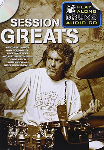 Play Along Drums Audio CD: Session Greats: #F# Play-Along, CD, BOOKLET für Schlagzeug