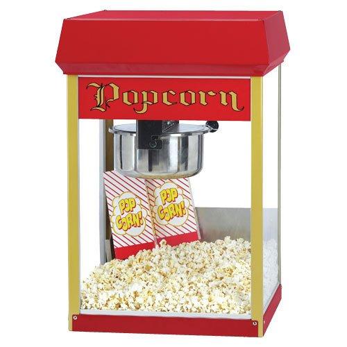 Fun Pop 8oz Popcorn Popper in Red and Clear