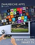 TCL 50EP640 Fernseher 126 cm (50 Zoll) Smart TV (4K UHD, HDR 10, Triple Tuner, Android TV, Micro Dimming, Prime Video, Alexa und Google Assistant) Schwarz [Modelljahr 2019] - 3