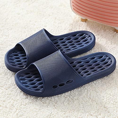 LLGG Baño Sandalias de Punta Descubierta,Zapatillas de Agua secas de Velocidad Hueca, Zapatillas de Fondo Suaves Antideslizantes-Tibetano_42-43,Unisex Adulto Zapatillas de baño