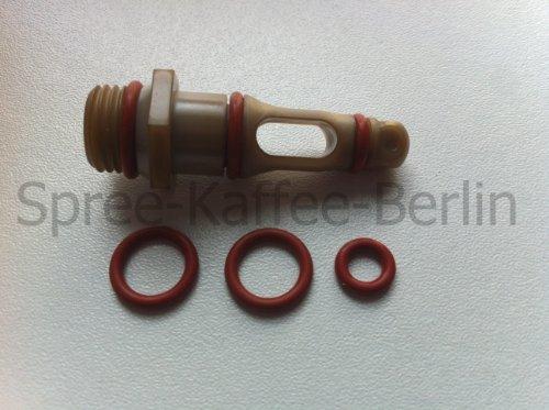 SKB Dichtungs-Set Auslaufventil/Supportventil geeignet für Saeco / Spidem Kaffeevollautomaten -Set 55-