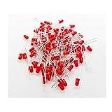 50 Diodos leds rojos de 3x5 mm lente roja