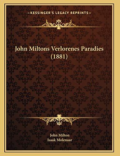 John Miltons Verlorenes Paradies (1881)