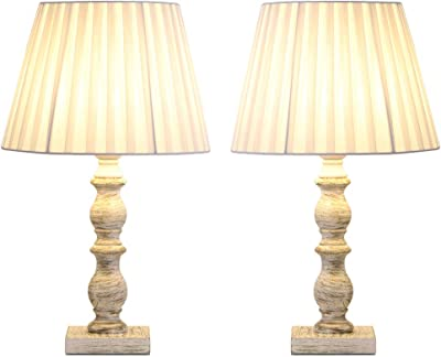 Grandview Gallery 32 Quot Reclaimed Grey Table Lamps W Linen