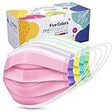 ZTANPS Face Mask,Pack of 50 Disposable Face Mask for Men & Women (Color)