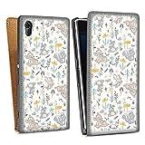 DeinDesign Étui Compatible avec Sony Xperia Z1 Étui à Rabat Étui magnétique Produit sous...