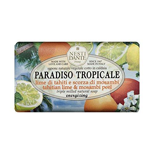 Nesti Dante Seife Paradiso - Tahitian Lime & Mosambi Peel 250 g, 1er Pack (1 x 250 g)
