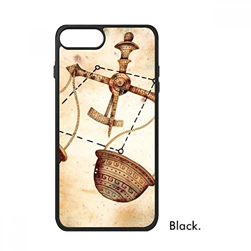 DIYthinker september oktober Weegschaal sterrenbeeld Zodiac Voor iPhone 7 Cases Phonecase Apple Cover Case Gift, iPhone 7 case