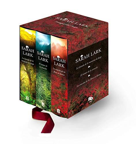 Trilogía del Fuego (edición estuche): La estación de las flores en llamas | El rumor de la caracola | La leyenda de la montaña de fuego (B DE BOLSILLO)