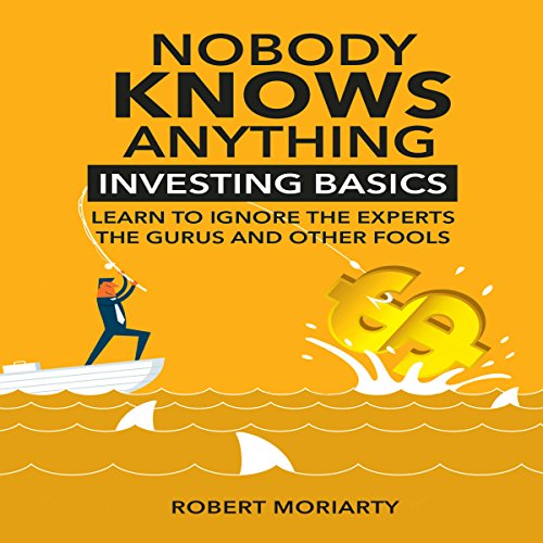 Nobody Knows Anything audiobook cover art
