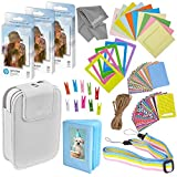 Zink Photo Paper and Frames Kit – 60 Pack - Sticker Paper for HP Sprocket Portable Printer - Sticky 2x3 Sheets for Printing Pocket Size Phone Pictures - with Photo Album, Case, Frames, Clips mens clip Oct, 2020