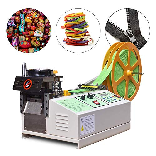 Automatic Webbing Tape Cutting Machine, Hot/Cold Zipper Tape Cutting Machine for...