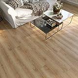 Selkirk Vinyl Plank Flooring-Waterproof Click Lock Wood Grain-4.5mm SPC Rigid Core Harbor SK70002 Sample