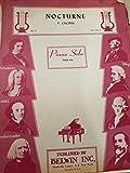 Nocturne Piano Solo No 71, Op 9 No 2