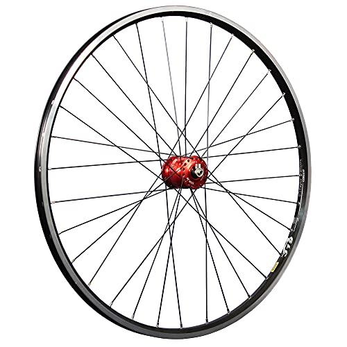 Taylor-Wheels Radversender Mavic Son 28 - Llanta delantera para bicicleta (28', dinamo de buje), color rojo