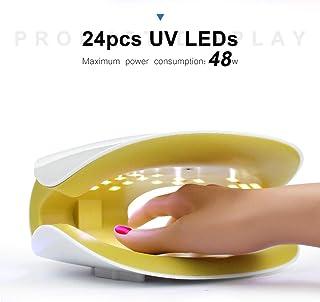 MYPNB Lámpara de uñas la luz de uñas 48w / 24PCS UV/Fuente de luz de Doble Pantalla Digital Inteligente 30s / 60s / 99s dirigidos indolora uñas Inteligente máquina de Tratamiento de luz