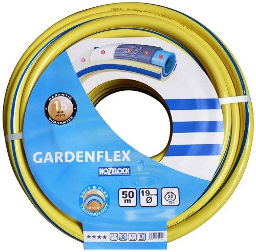 Hozelock 132932 Tuyau d'arrosage Gardenflex Ø 19 mm, 50 m (Jaune/bleu) (Import Allemagne)