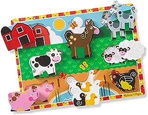 Melissa & Doug Farm Chunky Puzzle by Melissa Doug