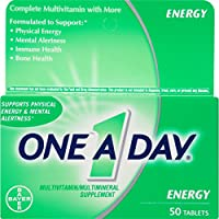 One-A-Day Energy Multivitamin 50-Count (並行輸入品)