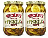 Wickles Wicked Sandwich Chips, 16 OZ (Pack of 2)