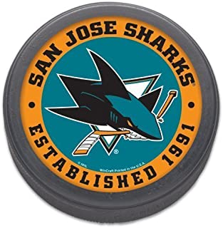 Wincraft San Jose Sharks Official NHL Regulation Size Hockey Puck