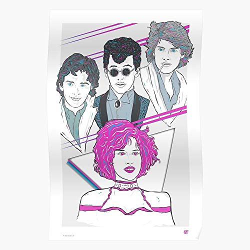 in Jon Ringwald Mccarthy Andrew 80S Breakfast Cryer Club Sixteen Candles Pretty Pink Molly Spader James I 80s-Motivation - Trendy Poster for Wall Art Home Decor Room