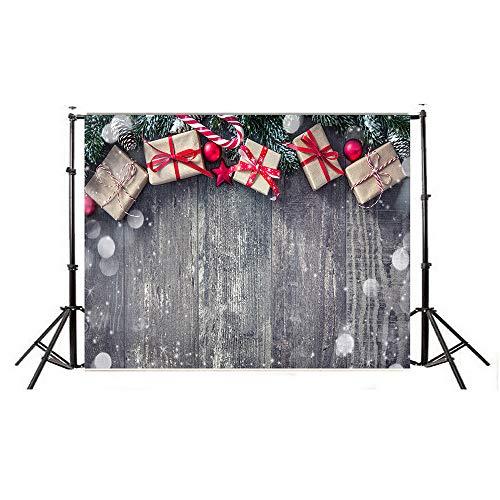 Backdrops FORH 150x90cm Bokeh Studio foto hintergrund aus dünnem vinyl gedruckt mit Weihnachten Schneeszene Hintergrund