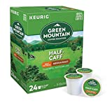 Keurig Coffee Pods K-Cups 16 / 18 / 22 / 24 Count Capsules ALL BRANDS / FLAVORS (24 Pods Green Mountain - Half-Caff)