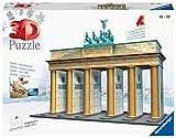 Ravensburger - Puzzle 3D, diseño Puerta de Brandenburgo (12551 7)
