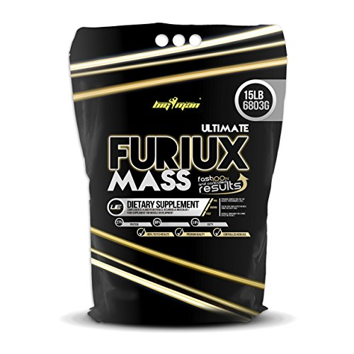 Big Man Nutrition Ultimate Furiux Mass Suplementos Cookies - 6803 gr
