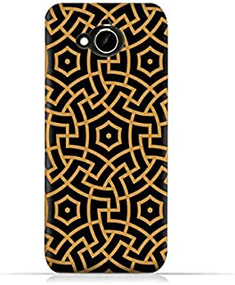HTC Desire 10 Compact TPU Silicone Protective Case with Morocco Traditional Arabic Pattern