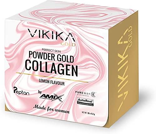 Vikika Gold By Amix Powder Gold Collagen 20 sobres X 11,2 Gr