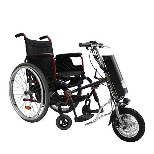 GJZhuan 36V 250W Elektro-Rollstuhl Traktor Handcycle Handbike DIY Elektro-Rollstuhl-Umrüstsätze Mit 36V 9Ah Batterie 12inch