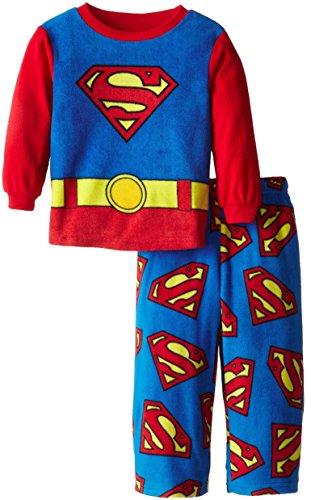 Superman DC Comics Pijama de Forro Polar para Little Boys