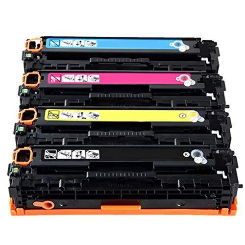 XIGU Compatible para HP CF210A Reemplazo de Cartucho de tóner para HP Laserjet CP1215 1215N 1515 1515N 1518NI M251N 276N 276NW CM1312MFP 1312NFI MFP PRO200 Impresora Combination