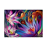 5D Diamond Painting kit, Diamond Spray Paint kit, Embroidery Painting, Picture Art, Home Wall Decoration (8349 Flower)