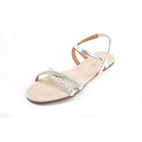 Silver Sandals For Wedding Amazon