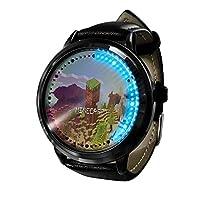 2021年新人時私の世界ゲームアニメ スファッショントレンド時計カジュアルクォーツ時計学生時計ペア時計-A4